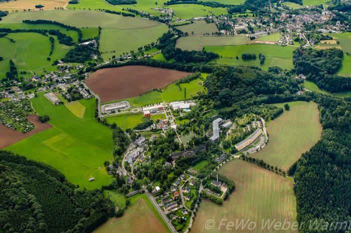 Luftbild Heilbad Warmbad